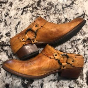 FRYE Leather Clogs Mule Boots Shoes
